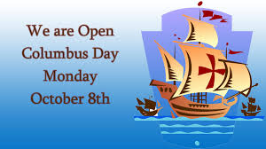 Columbus Day - Schools Open